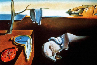 Salvador Dali The Persistence of Memory, Surrealism Background for Android 480x800