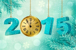 2015 New Year Background for Android, iPhone and iPad