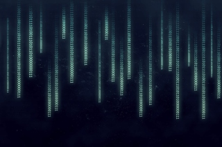 Kostenloses Matrix Binary Numbers Wallpaper für Samsung Galaxy S6