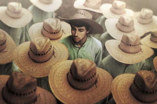 Mexican Hats Wallpaper for 1400x1050