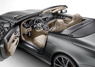Free Mercedes-Benz SL 65 AMG Interior Picture for Android, iPhone and iPad