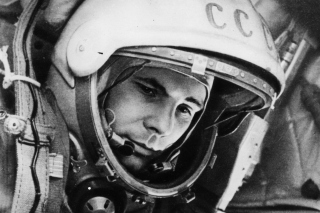 Yuri Gagarin First Austronaut Wallpaper for Android, iPhone and iPad