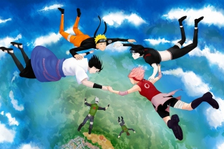 Hatake Kakashi, Sai, Uchiha Sasuke, Haruno Sakura Picture for Android, iPhone and iPad