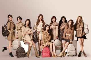 Girls Generation Korean Kpop Background for Android, iPhone and iPad