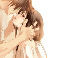 Screenshot №1 pro téma Anime Couple 320x240