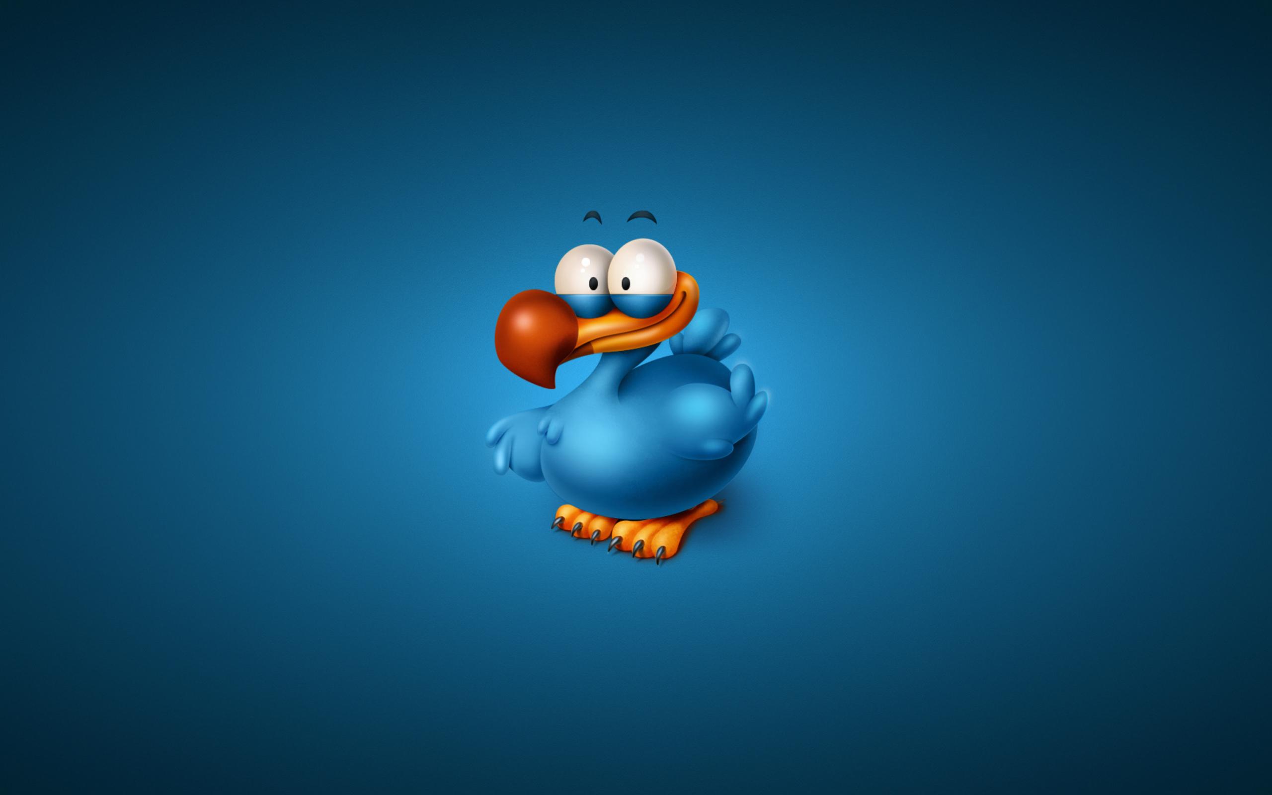 забавная птичка бесплатно