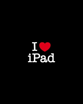 I Love Ipad Background for Nokia C1-01