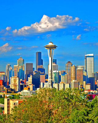 Seattle Landscape, Washington sfondi gratuiti per Nokia X3-02