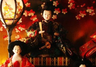 Japanese Doll Festival Background for Android, iPhone and iPad