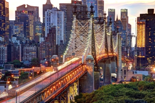 Queensboro Bridge Background for Android, iPhone and iPad