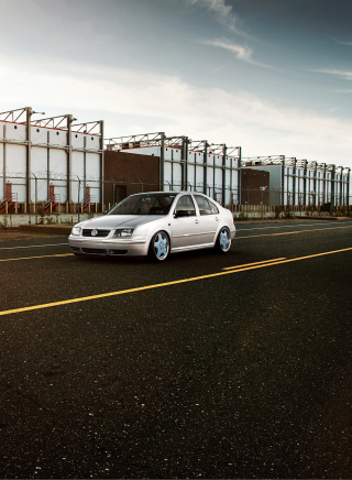 Volkswagen Jetta Background for Nokia X6