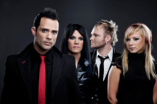 Skillet Christian Rrock Band Picture for Android, iPhone and iPad