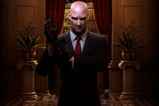 Картинка Hitman: Blood Money на телефон Sony Xperia Tablet Z
