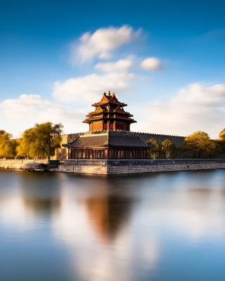 Beijing HQ Photo Background for Nokia C1-01