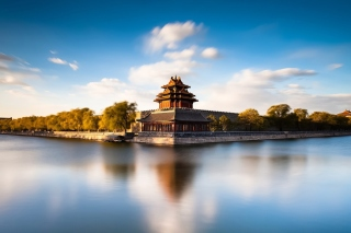 Beijing HQ Photo Background for LG Optimus U