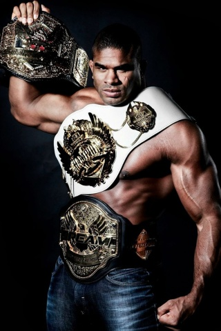Screenshot №1 pro téma Alistair Overeem MMA Star 320x480