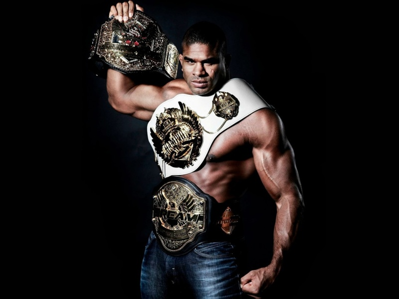 Sfondi Alistair Overeem MMA Star 800x600