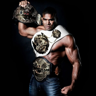 Alistair Overeem MMA Star sfondi gratuiti per iPad mini