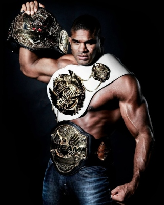 Alistair Overeem MMA Star sfondi gratuiti per iPhone 4S