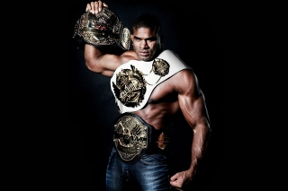 Kostenloses Alistair Overeem MMA Star Wallpaper für LG P700 Optimus L7