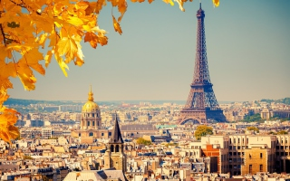 Paris In Autumn - Fondos de pantalla gratis