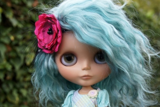 Doll With Blue Hair sfondi gratuiti per cellulari Android, iPhone, iPad e desktop