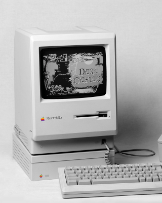 Macintosh Plus Wallpaper for 240x320