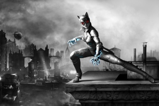 Kostenloses Batman - Arkham City Armored Edition, Catwoman Wallpaper für Samsung Galaxy S6