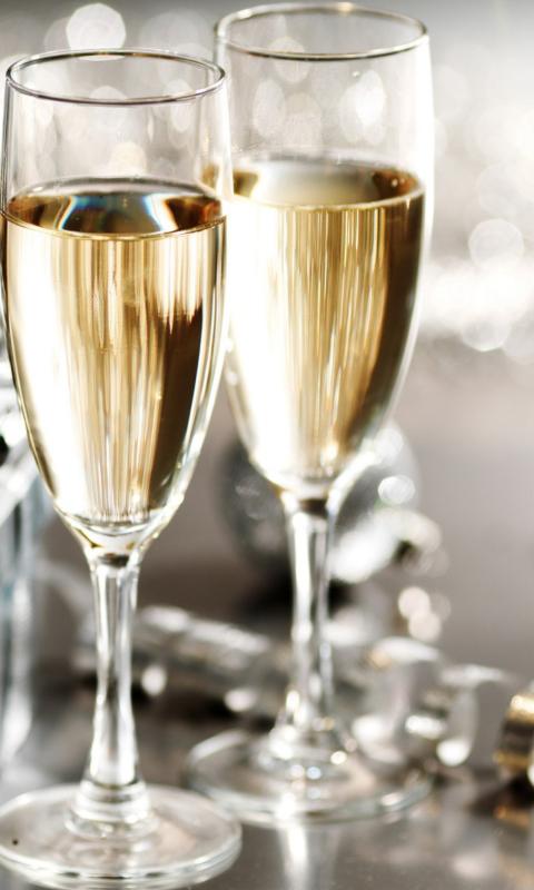 Картинки бокалы с шампанским код