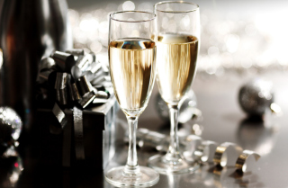 New Years Eve Champagne Wallpaper for Android, iPhone and iPad