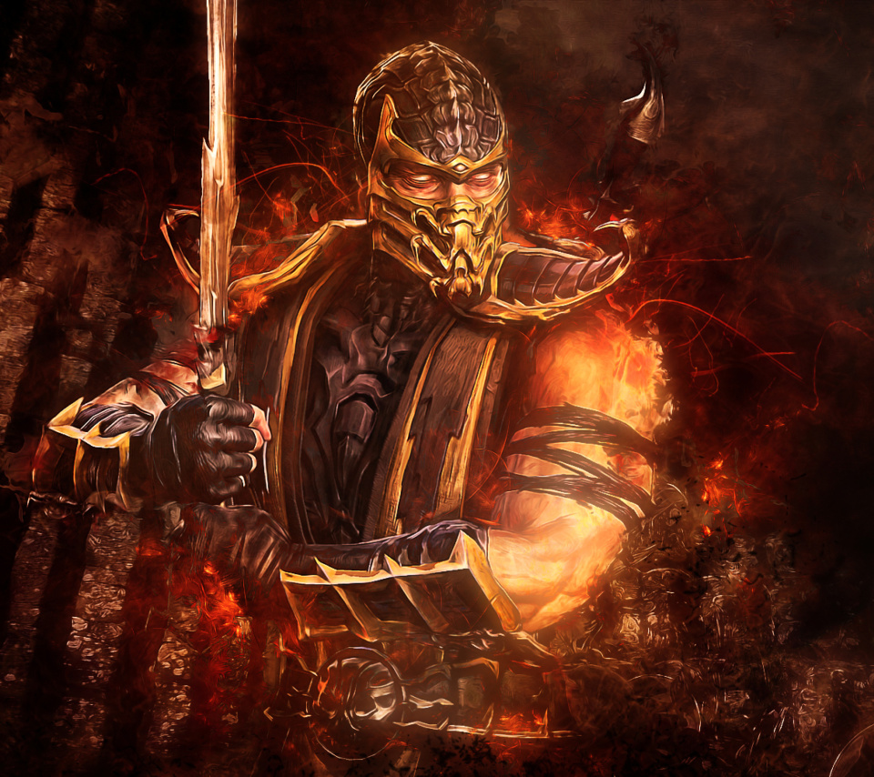 Screenshot №1 pro téma Scorpion in Mortal Kombat 960x854