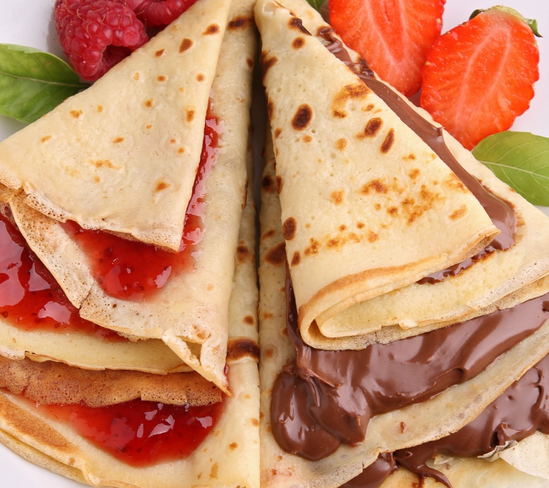 Screenshot №1 pro téma Most delicious pancakes with jam 1080x960