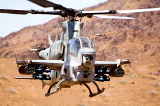 Helicopter Bell AH-1Z Viper Wallpaper for Android, iPhone and iPad