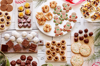 Traditional Christmas Cookie and Gingerbread - Fondos de pantalla gratis
