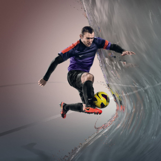 Nike Football Advertisement - Obrázkek zdarma pro iPad mini