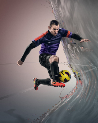 Nike Football Advertisement - Obrázkek zdarma pro iPhone 6