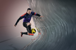 Free Nike Football Advertisement Picture for 1366x768