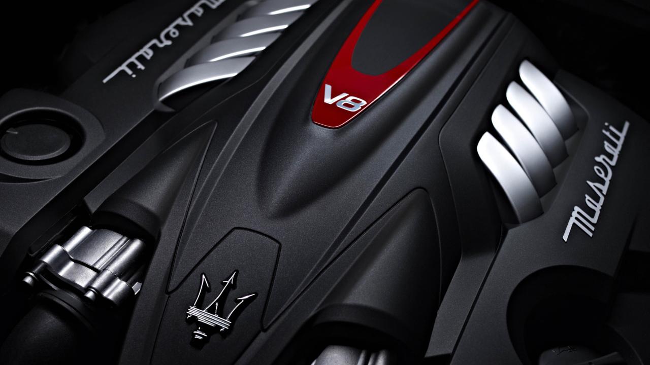 Maserati Engine V8