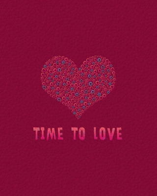 Time to Love Wallpaper for 240x320