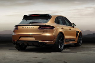 Porsche Macan Tuning Wallpaper for Android, iPhone and iPad
