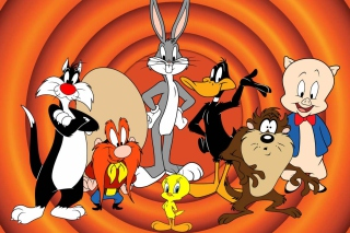 Looney Tunes Background for Fullscreen Desktop 1280x1024