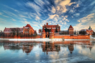 Malbork Castle - Poland Background for Android, iPhone and iPad