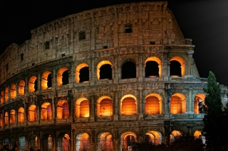 Roman Colosseum Background for Android, iPhone and iPad