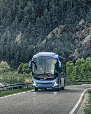 Volvo 9700 Bus sfondi gratuiti per iPhone 4S