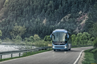 Volvo 9700 Bus Background for Android, iPhone and iPad