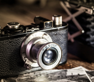Vintage Camera Background for iPad