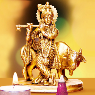 Lord Krishna with Cow Picture for LG KP105