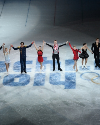 Sochi 2014 XXII Olympic Winter Games Picture for 320x480