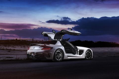 Mercedes Benz SLS para LG E400 Optimus L3