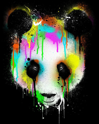 Free Crying Panda Picture for HTC Titan